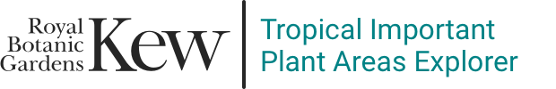 Tropical Important Plant Areas Explorer